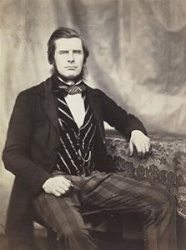 A self-portrait of Roger Fenton.