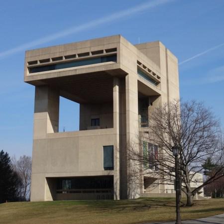 The Herbert F. Johnson Museum at Cornell University was designed by I.M. Pei.