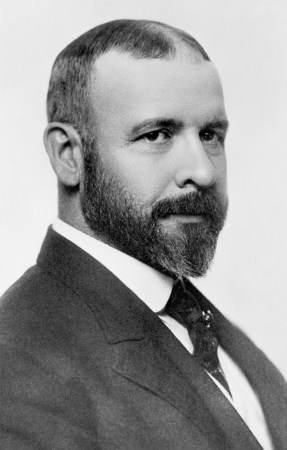 A photograph of Louis Sullivan from about 1895.