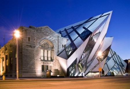 The Michael Lee-Chin Crystal, an addition to the Royal Ontario Museum in Toronto.