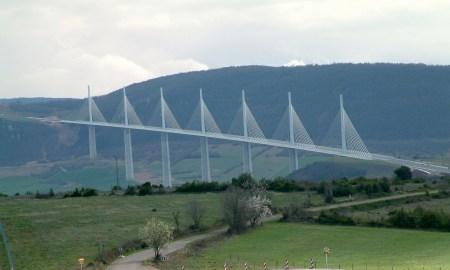 Millau Viaduct in Millau, France.