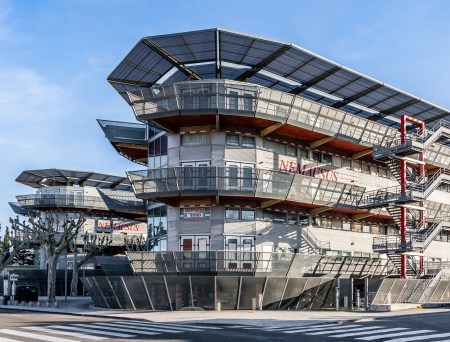Nemausus Housing, by Jean Nouvel, in Nimes, France.
