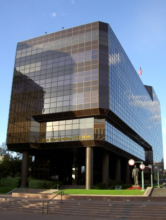 San Bernardino City Hall in San Bernardino, California.