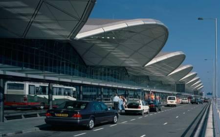 Chek lap kok airport.