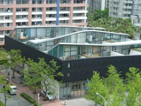 Nexus World Housing (1991). Architect: Rem Koolhaas. Location: Fukuoka, Japan.