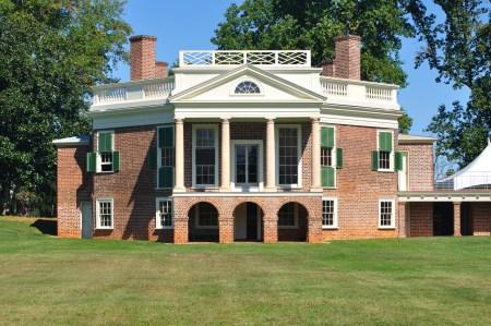 Poplar Forest (1806-1826). Architect: Thomas Jefferson. Location: Near Lynchburg, Virginia.