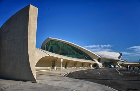 TWA Terminal, John F. Kennedy Airport. Architect: Eero Saarinen. Location: New York City, US.