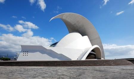 Auditorio de Tenerife, in the Canary Islands of Spain, was designed by Santiago Calatrava.