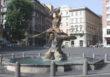 The Fountain of the Triton, by Bernini.