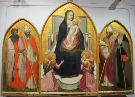 Masaccio's San Giovenale Triptych is located in the