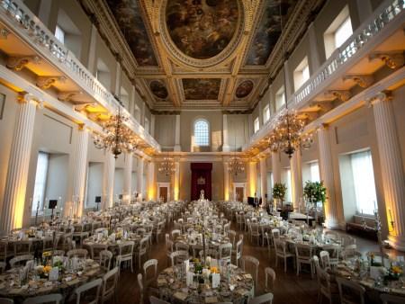 A view of the interior of the Banqueting House, designed by Inigo Jones. Photo courtesy of gregallenphoto.com