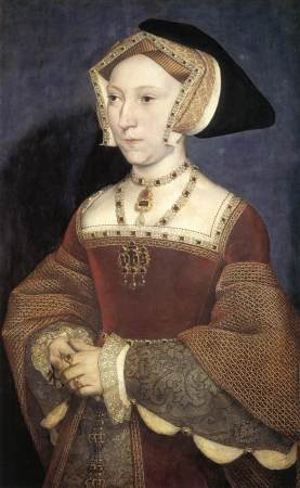English court painter Hans Holbein the Younger painted this portrait of Jane Seymour, third wife of King Henry VIII. Unlike most of Henry's wives, she died of natural causes 12 days after giving birth to the future King Edward VI.