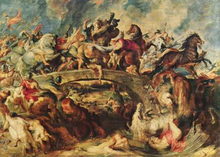 The Battle of the Amazons, a painting by Peter Paul Rubens.
