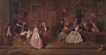 L'Enseigne de Geraint, a painting by Jean-Antoine Watteau.