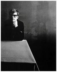A 1965 self portrait by Guy Bourdin for Vogue Paris.