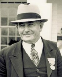 A 1958 photograph of John T. Daniels.