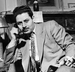 A 1941 photograph of Sam Shaw.