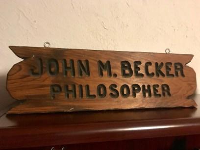 philosopher plaque