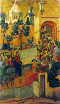 duccio entry into jerusalem