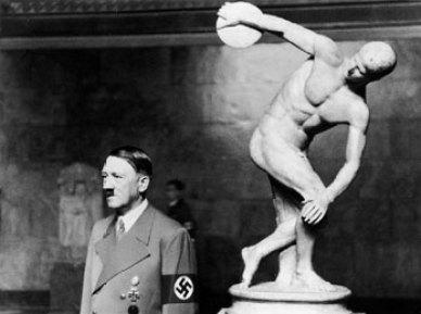 hitler and discobolus