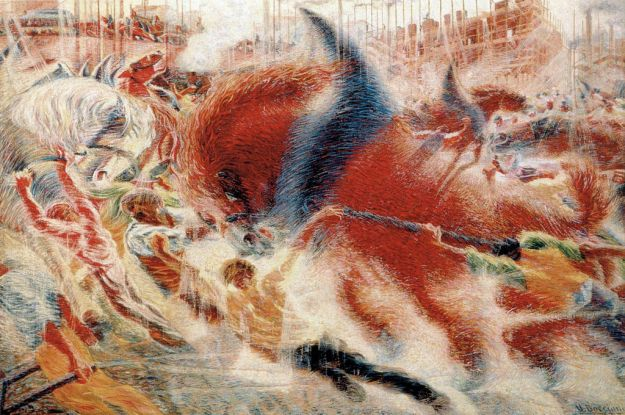 The_City_Rises_by_Umberto_Boccioni_1910