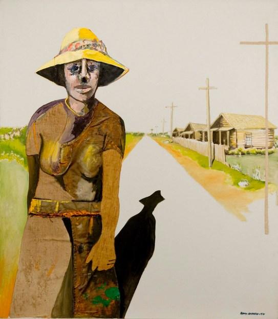 Andrews - Down the Road (1971) Michael Rosenfeld Gallery