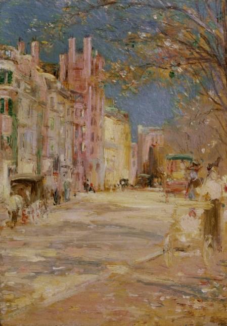 Bannister - Boston Street Scene (1898-99) Walters Art Museum