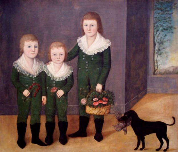 Joshua Johnson - The Westwood Children (1807) NGA