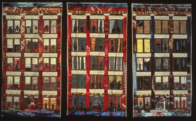 Ringgold - Street Story Quilt (1988) Met