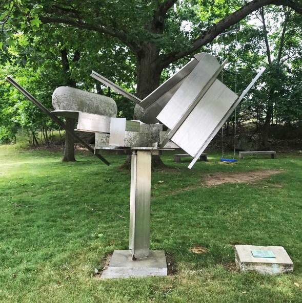 O1H Ernest Trova - Tree (1982) Brandeis University, Waltham, MA