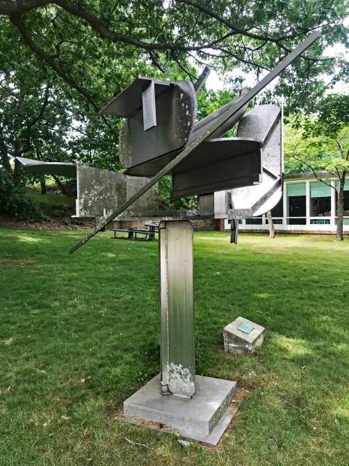 O1I Ernest Trova - Tree (1982) Brandeis University, Waltham, MA