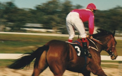 my photos, Anzac Day race meeting, Wodonga, Vic April 25th 1989