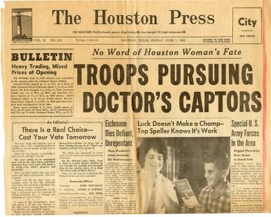 The Houston Press, June 1, 1962