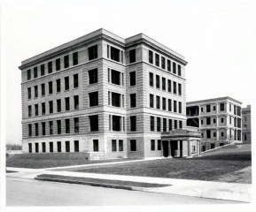 St. Louis Children's Hospital, exterior, c. 1915. Becker Medical Library Archive