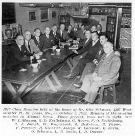 Class of 1913 reunion