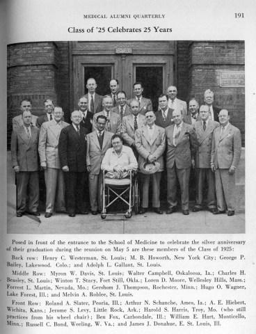 Class of 1925 reunion