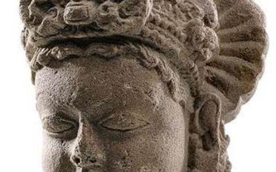 Sandstone Head of Vishnu