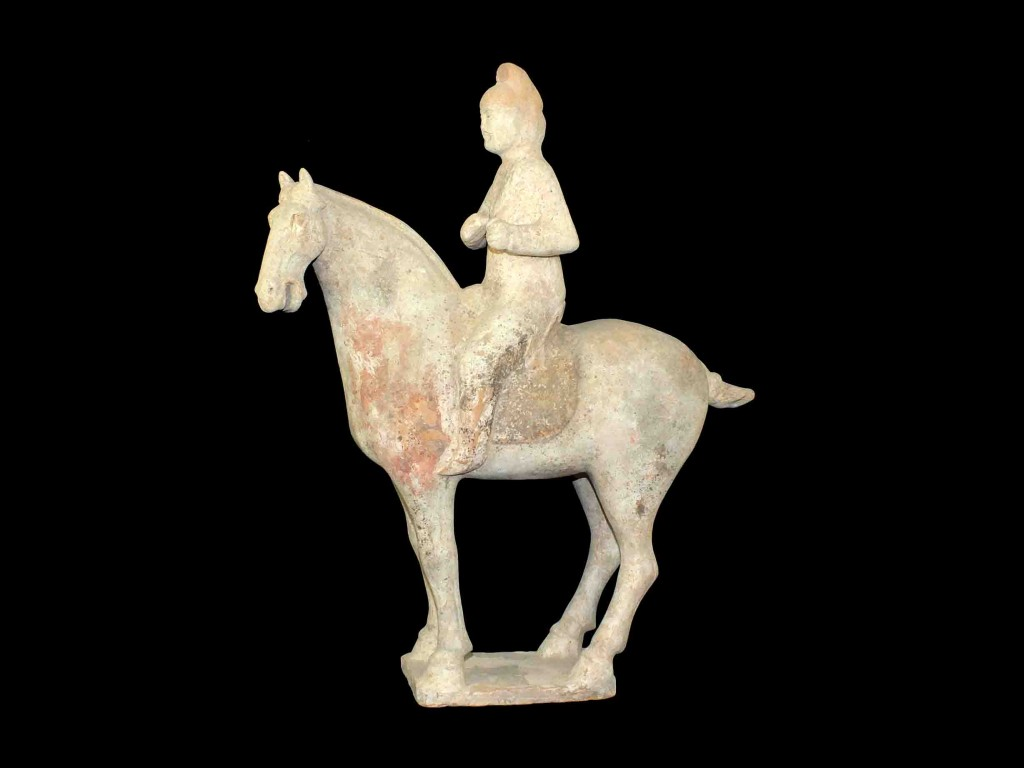 Tang Horse with Rider