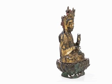 Large Gilded Guanyin Ming (10)