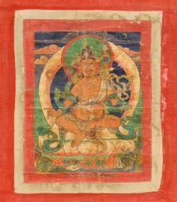 18TH C TIBETAN THANGKA 1