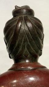 Silver Wire Inlaid Bronze GuanYin (8)