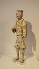 Han Painted Pottery Warrior (5)