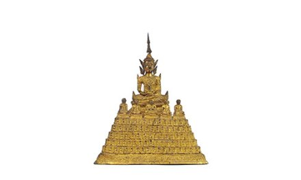 Rare Gilt Bronze Buddha