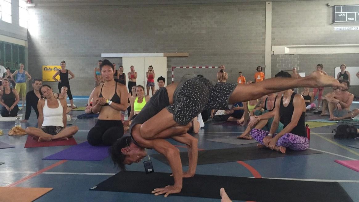 Barcelona Yoga Conference, Simon Park