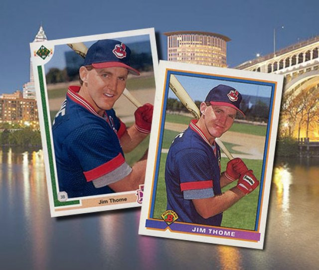 Jim Thome Rookie Card Feature