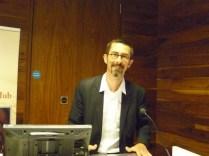 Dirk Van Hulle lecture at the Trinity Long Room Hub