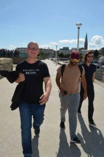 Beckett Country tour, Jonathan Heron, Khaleem Ali and Sam Terry