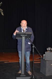 John Minihan speaking at his public event