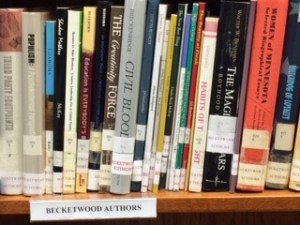 Books in the Library by Becketwood authors