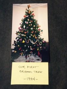 Original Origami Tree